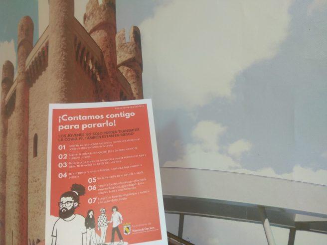 campaña concienciación juvenil contra la Covid-19