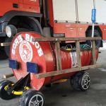 foto camión hecho por el parque de bomberos