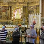 restauración de la cúpula barroca del Santuario de la Carballeda
