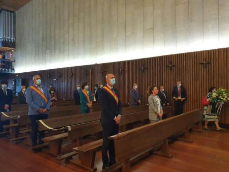 Ayuntamientos del Voto en la Basílica de La Virgen del Camino