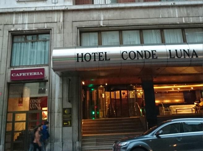 hotel conde luna león