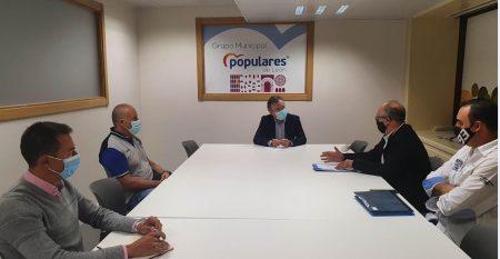 reunión PP taxistas