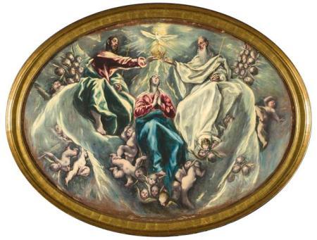 La Coronación de la Virgen El Greco