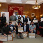 premios de las Primeras Jornadas de Bacalao de Autor en Zamora