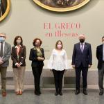 El Museo Nacional del Prado expone las obras del Greco de la iglesia del Hospital de la Caridad de Illescas en Toledo