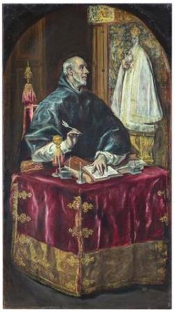 San Ildefonso El Greco