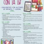 De fiesta con al LIJ. I Encuentro de autores de la literatura infantil y juvenil