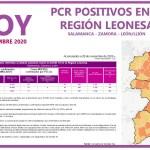 PCR COVID19 A 29 NOVIEMBRE 2020 REGIÓN LEONESA SALAMANCA, ZAMORA Y LEÓN