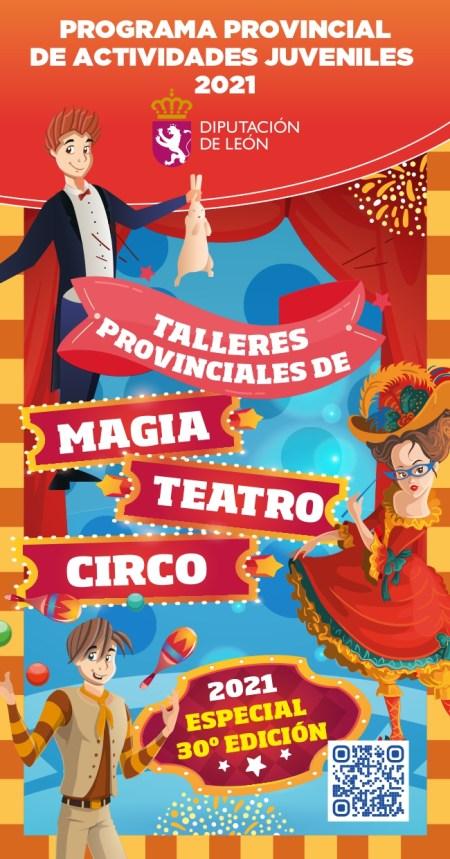Diputación de León Flyer Taller Teatro Magia Circo 2021_page-0001