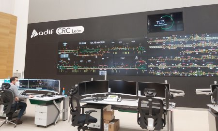 Centro de Regulación de Circulación (CRC) AVE León
