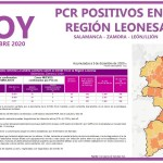 PCR COVID19 A 3 DE DICIEMBRE 2020 REGIÓN LEONESA SALAMANCA, ZAMORA Y LEÓN