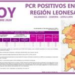 PCR COVID19 A 6 DE DICIEMBRE 2020 REGIÓN LEONESA SALAMANCA, ZAMORA Y LEÓN