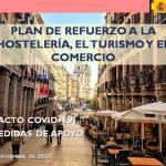Plan de refuerzo paralahostelería,elturismoyelcomercio,presentado por la ministra de Industria,ComercioyTurismo, Reyes Maroto.