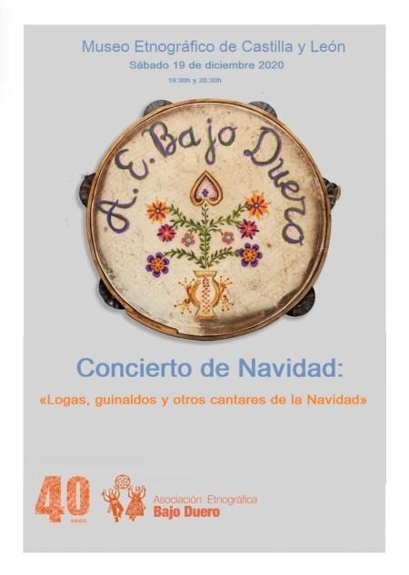 concierto de navidad asociación etnográfica bajo duero