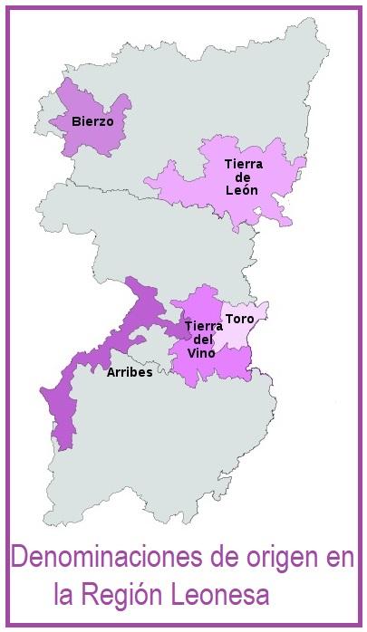 denominaciones de origen de la Región Leonesa