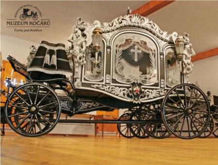 Museo de Carruajes en Čechy pod Kosířem