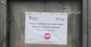 medidas preventivas debido a la previsión de fuertes rachas de viento Salamanca