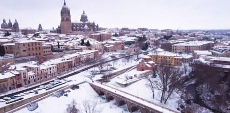 'Turismo de Salamanca' emite un vídeo a vista de pájaro