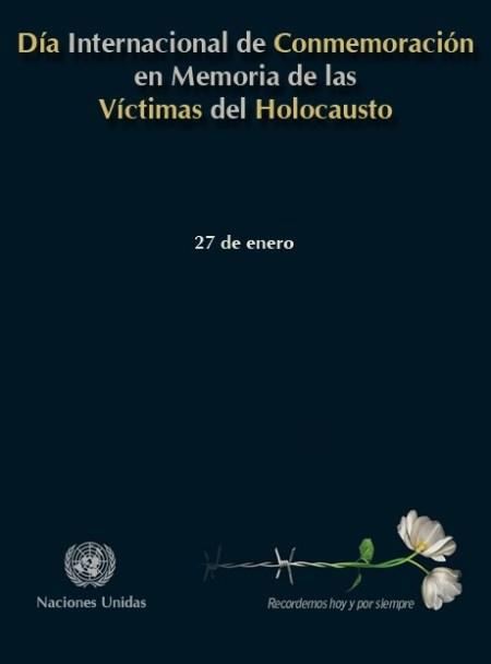 27 de enero día internacional de las memorias del holocausto