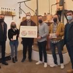 Aguardientes Cervato de Villardeciervos recibe su cartel de producido en la RBT Meseta Ibérica