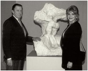 El barón y la baronesa Thyssen-Bornemisza