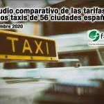 estudio comparativo tarifas taxi FACUA