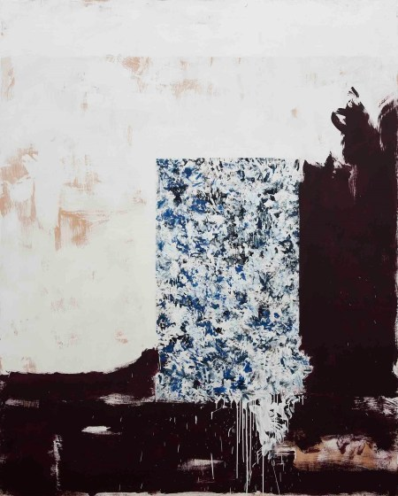 exposición 'Fracturas' del artista Carlos León