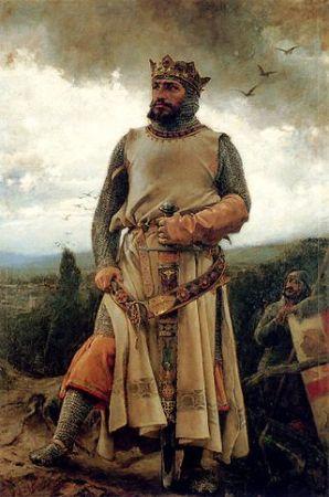 Alfonso I de Aragón por Pradilla (1879)