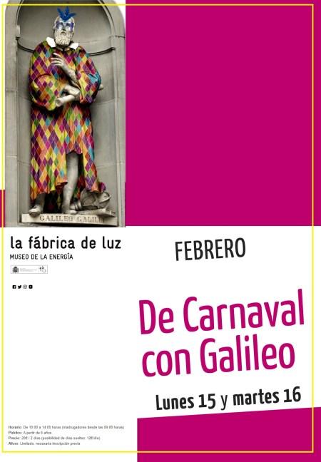 carnaval con galileo
