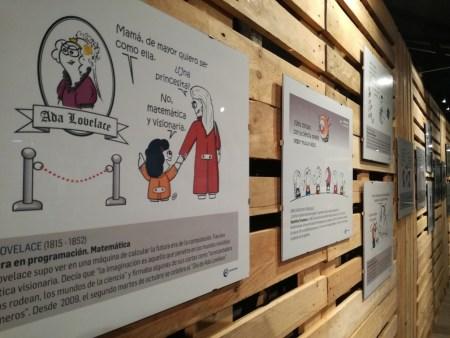 Últimos días para visitar la exposición De niña a científica