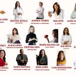 Cartel provisional Collage 8 de marzo, Mujeres en Gastronomía