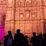 fachada rica del Edificio de las Escuelas Mayores de la Universidad de Salamanca