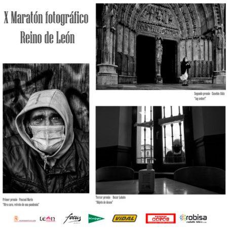 Exposición X maratón fotográfico Reino de León. Pasaje Ordoño II