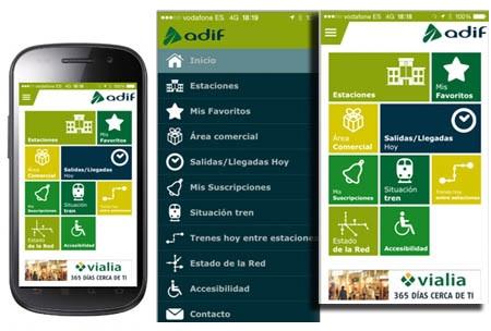 Adif habilitará una aplicación para buscar objetos perdidos en trenes y estaciones