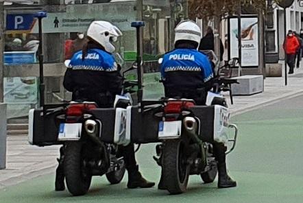 motoristas policia local de león