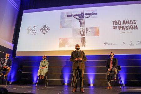 """Centenario de la Agrupación de Cofradías de Semana Santa de Málaga """"100 años de pasión"""""""
