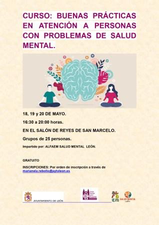 curso de buenas prácticas en atención a personas con problemas de salud mental