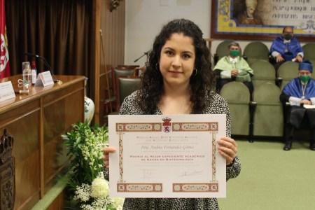 Premio anual DSM Vitatene Awards for Academic Excellence - Andrea Fernández Gómez