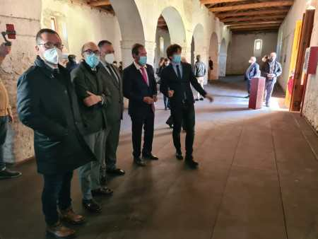 antigua panera del Monasterio de Sandoval