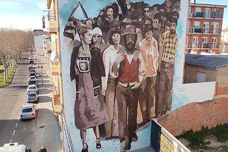 Mural zamora