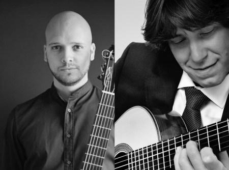 guitarristas Eduardo Inestal y Joaquín Clerch