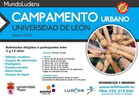 Campamento infantil de la ULE 2021