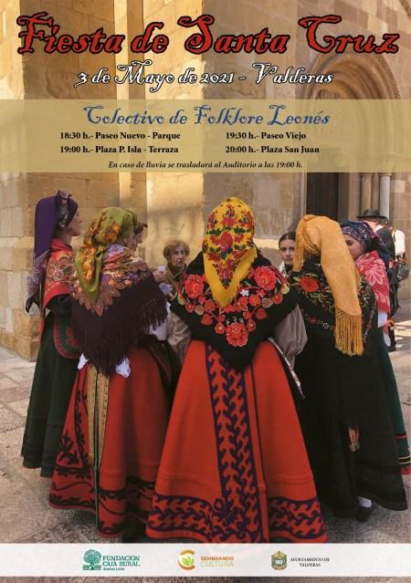 Cartel Colectivo Leonés en Valderas