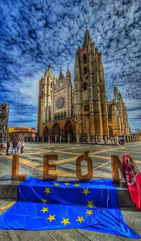 día de europa catedral de león