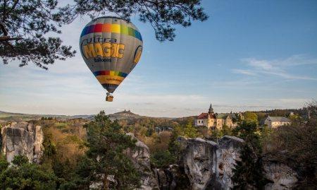 Cuatro paseos en globo para descubrir Chequia