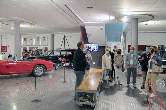 Museo de Historia de la Automoción se sitúa como un referente entre los espacios expositivos más accesibles a las personas con discapacidad.