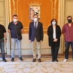 Reunión Alcalde Salamanca y omités de empresa de Renfe y Adif