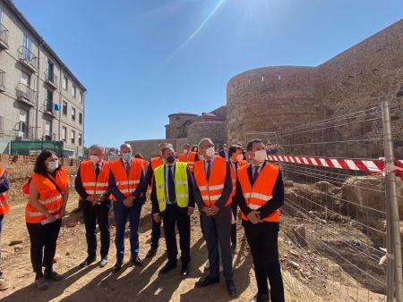 restauración de la muralla romana de León