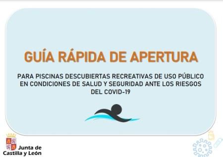 Guía Rápida para apertura de piscinas públicas ante los riesgos del Covid-19