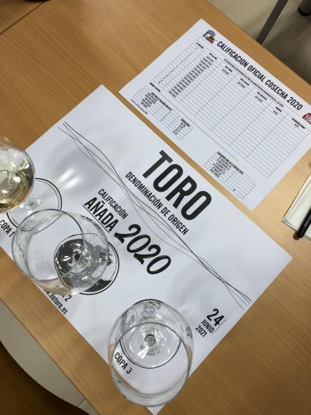 calificación añada 2020 D.O. Toro